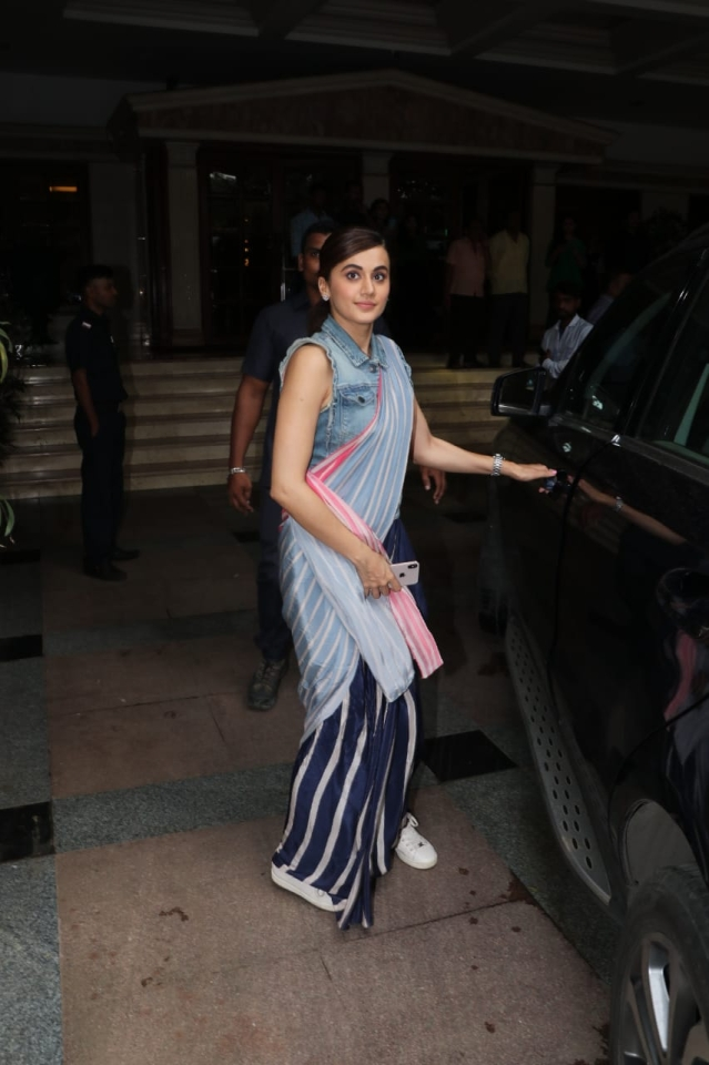 Celebrity Spotting: John Abraham, Taapsee Pannu and others clicked around Mumbai