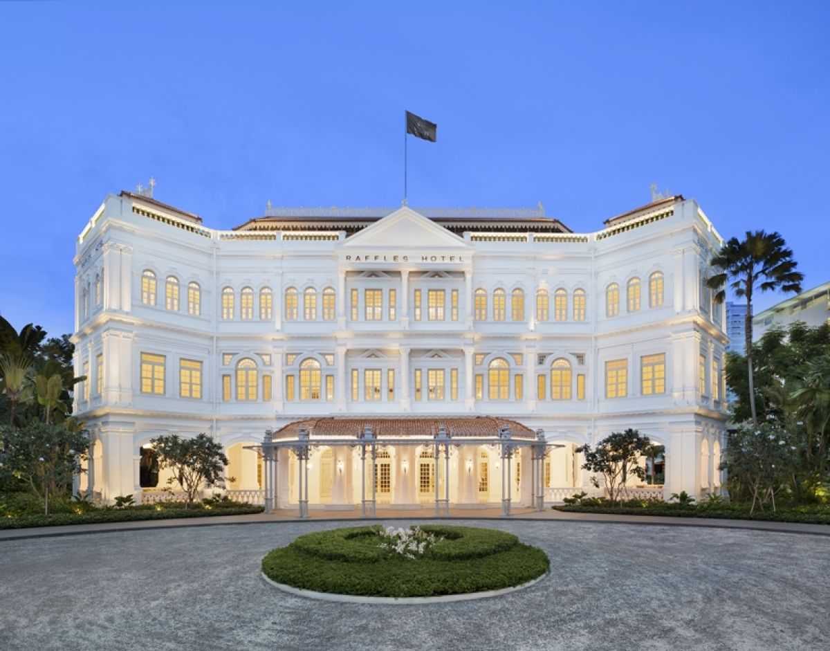 Raffles Singapore officially reopens