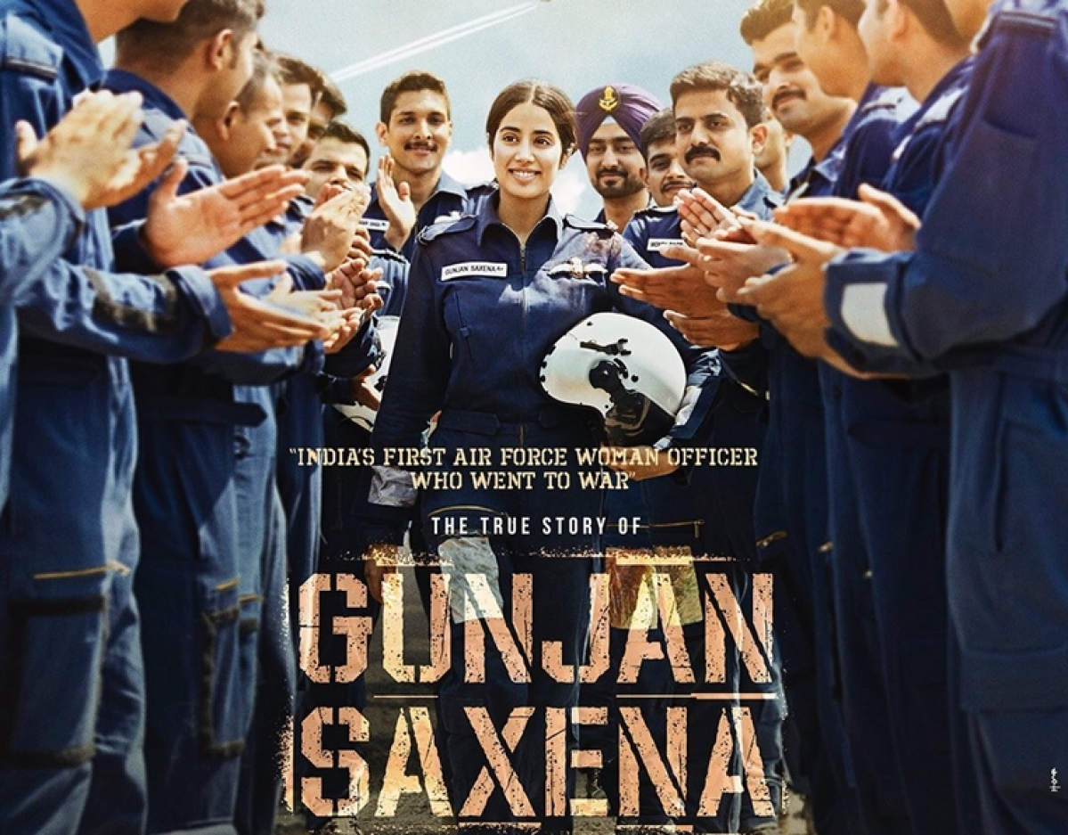First Look: Janhvi Kapoor as Gunjan Saxena, India's only female aviator ranger in Kargil War