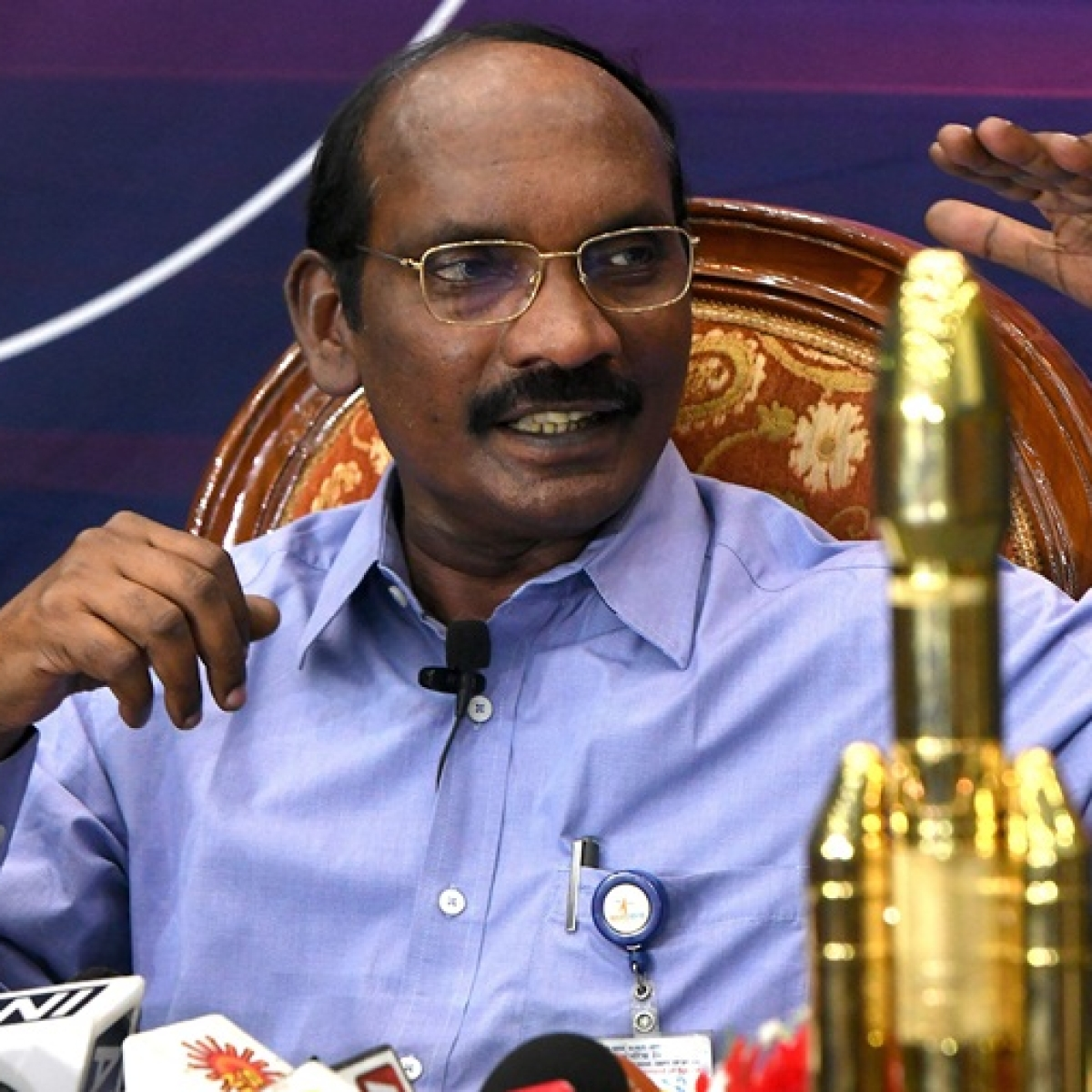 Our heart was almost stopping: ISRO Chief K Sivan on Chandrayaan-2 maneuver