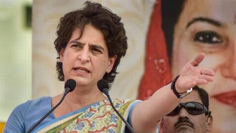 Either Centre no longer respect RSS' views, or they don't believe there is an issue in J&K: Priyanka Gandhi Vadra