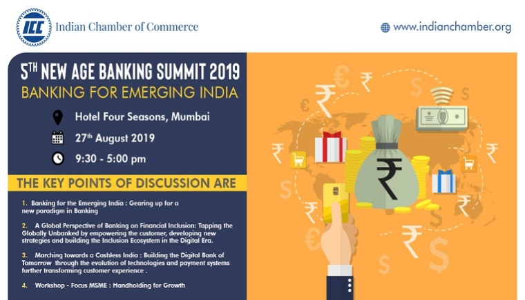 Indian Chamber Of Commerce Announces Its 5th Flagship – New Age Banking Summit