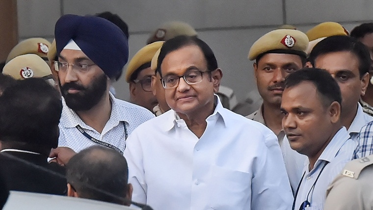 SC to hear appeals filed by Chidambaram against Delhi HC's order rejecting his bail plea today