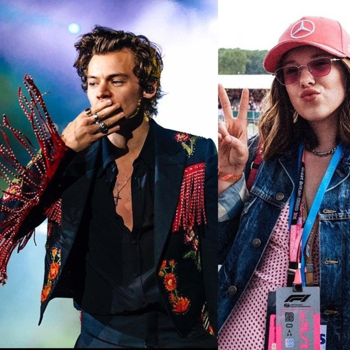 What's cooking between Harry Styles and Millie Bobby Brown?