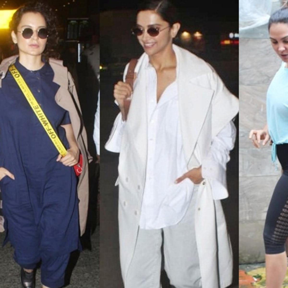 In Pics: What are Kangana Ranaut, Deepika Padukone, Lara Dutta and others up to?