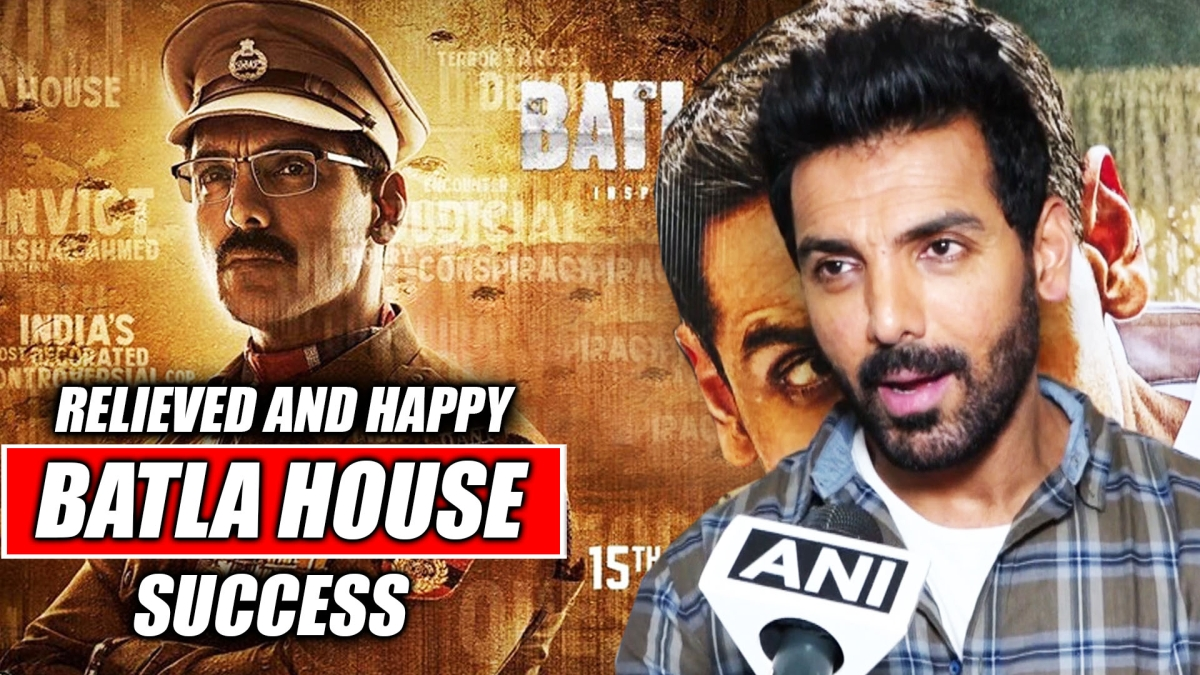 John Abraham 'relieved and happy' with Batla House's success