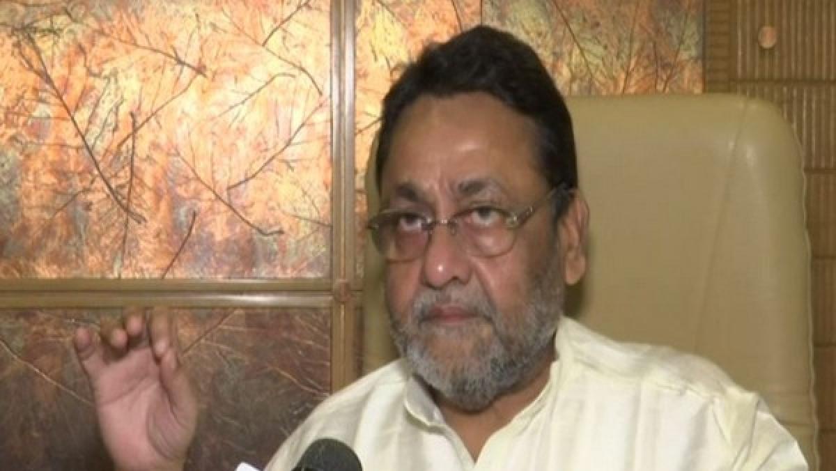 Chief spokesperson of NCP, Nawab Malik