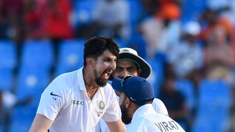 Ishant Sharma puts India on top in first Test