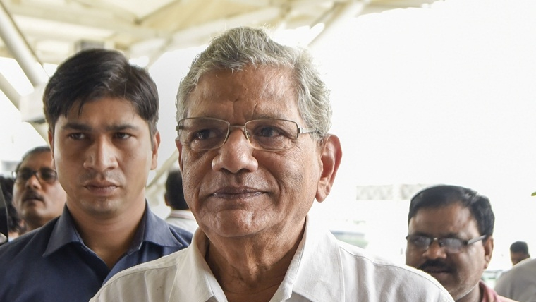 On-ground situation in Jammu and Kashmir completely contrary to government's claims: Sitaram Yechury