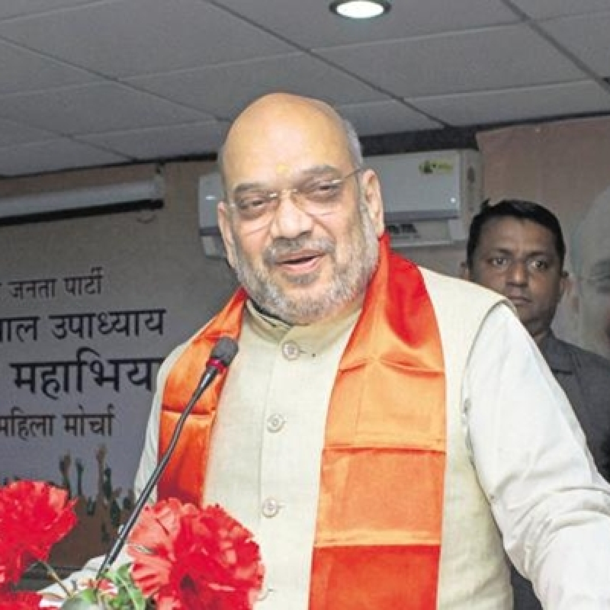 Amit Shah reviews operations against Naxals; development activities with CMs