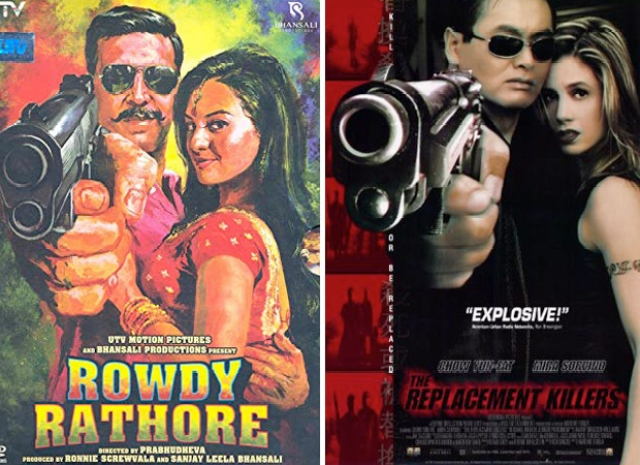 Other than 'Judgementall Hai Kya' these 12 posters for Bollywood films were copied from Hollywood