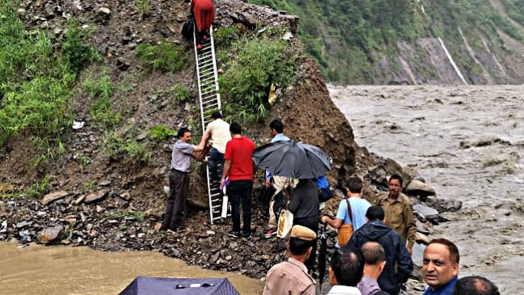 Himachal Pradesh receives highest ever rainfall in last 24 hours