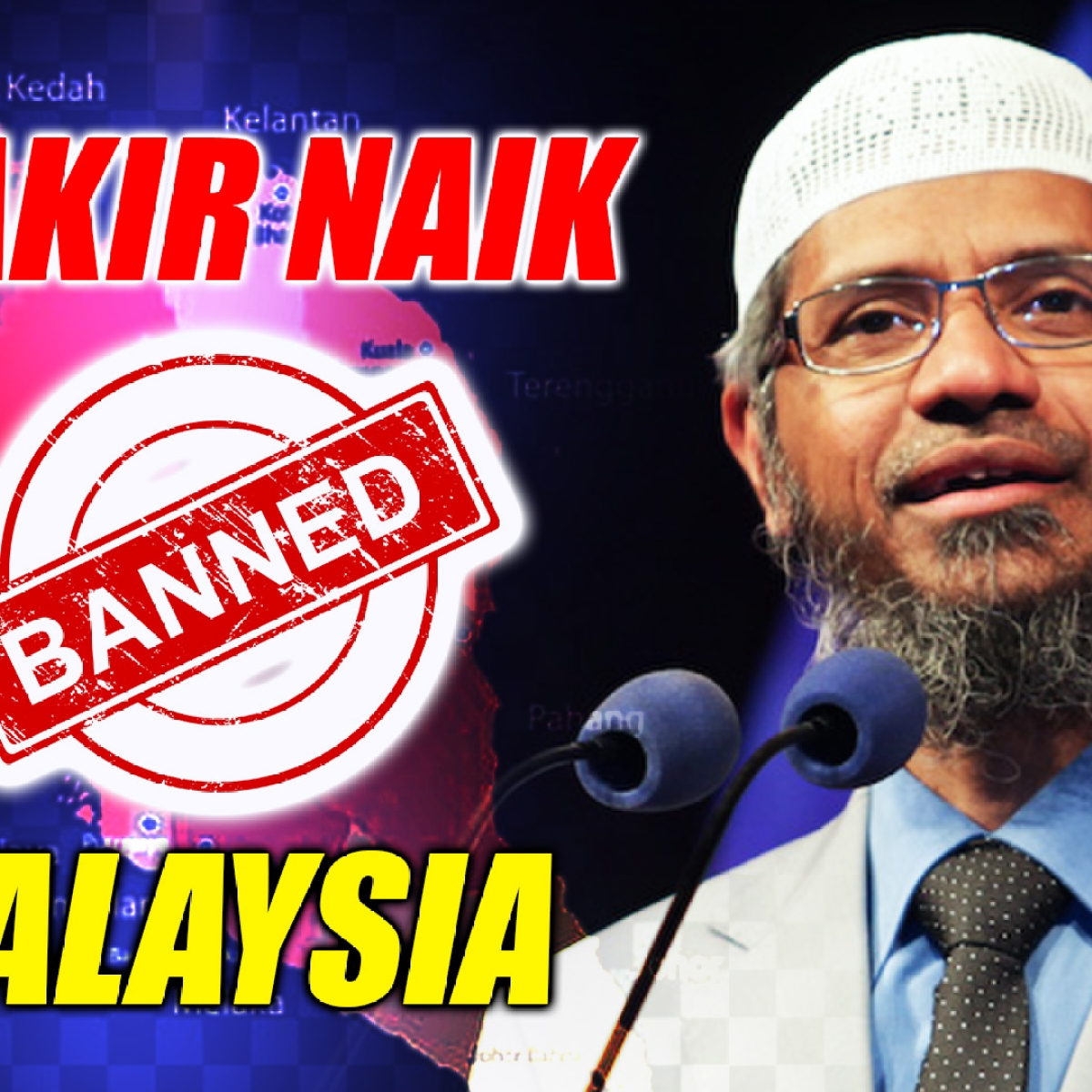 Zakir Naik Banned From Holding Religious Talks In Malaysia