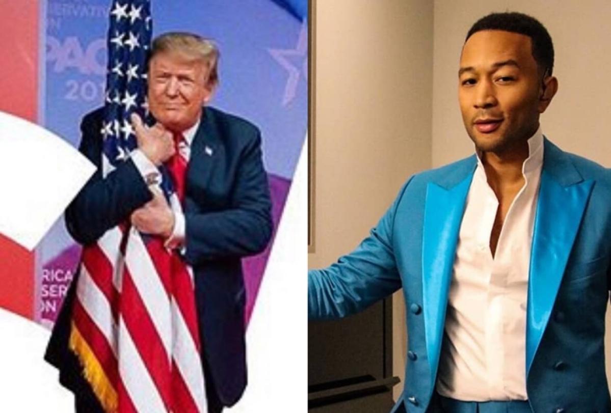 'The President inspires killers' Singer John Legend slams Trump over mass shootings in Ohio, El Paso