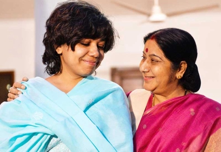 Sushma Swaraj fondly remembered by Judith D'Souza's family
