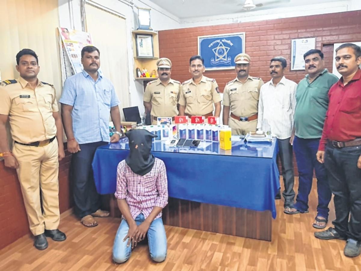 Mumbai: Thief activates mobile, gets caught!