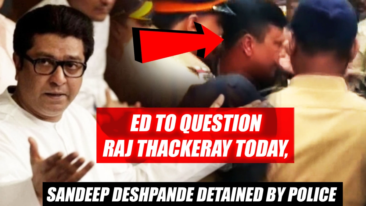 MNS Worker And Leader Sandeep Deshpande Detained By Police