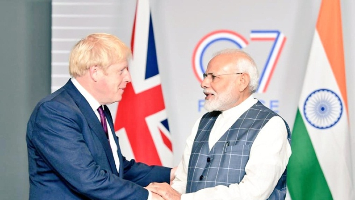 UK PM comes to know of his country's dramatic Ashes Test win from PM Modi