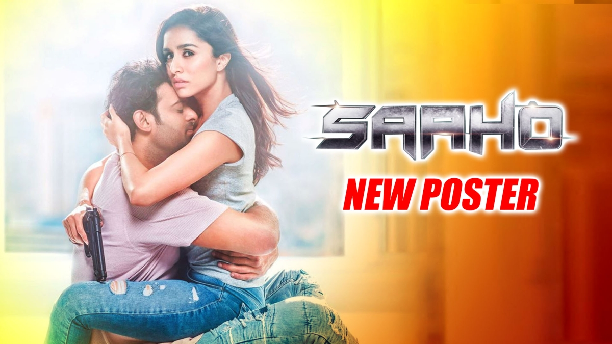 'SAAHO' New Poster: Prabhas And Shraddha Flaunt Sizzling Chemistry