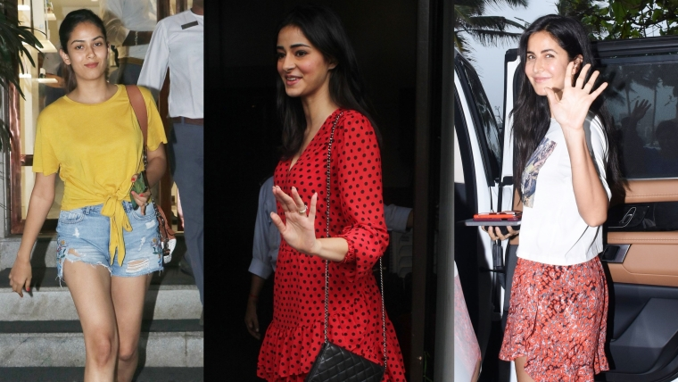 Have you seen these pictures of Mira Rajput, Katrina Kaif, and Ananya Pandey?