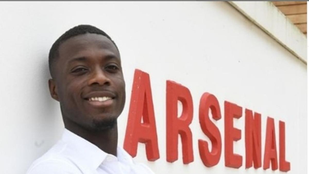 Nicolas Pepe joins Premier League side Arsenal