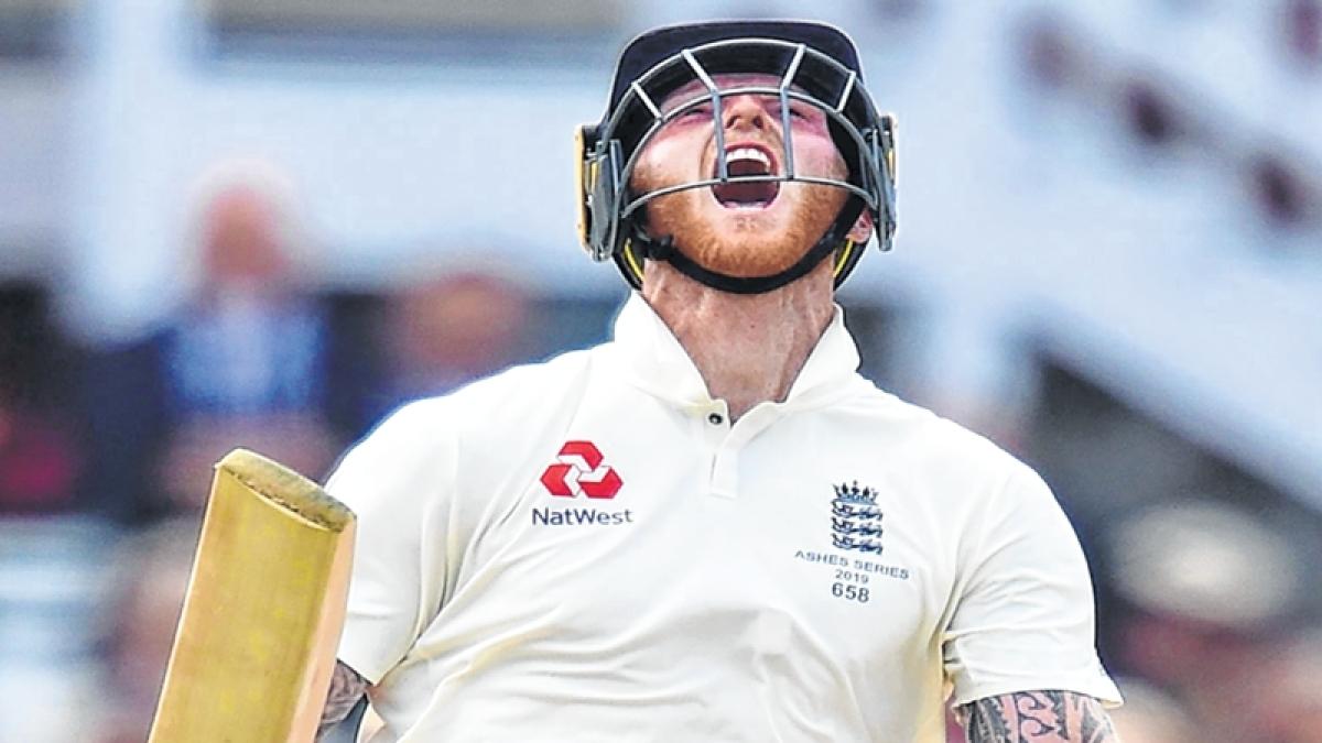 Ben Stokes' unbeaten ton helps England set Australia 267-run target