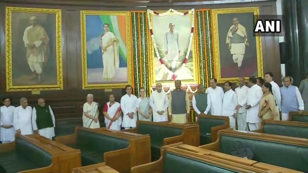 Rajiv Gandhi 75th birth anniversary: Sonia, Manmohan, Pranab pay tributes