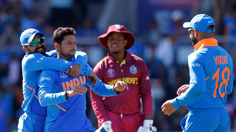 Live Cricket Score - West Indies vs India 3rd T20I