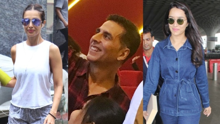 Clicked! Akshay Kumar, Shraddha Kapoor and other B-town celebs spotted across Mumbai