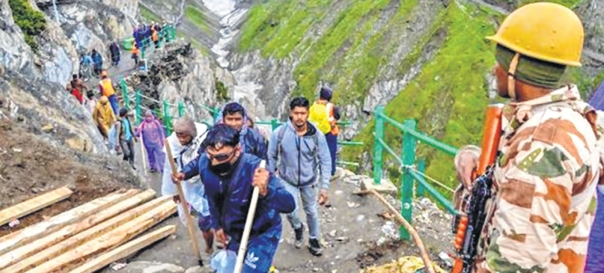 Recent troop deployment, curtailing of Amarnath Yatra add to sense of alarm and foreboding in Kashmir