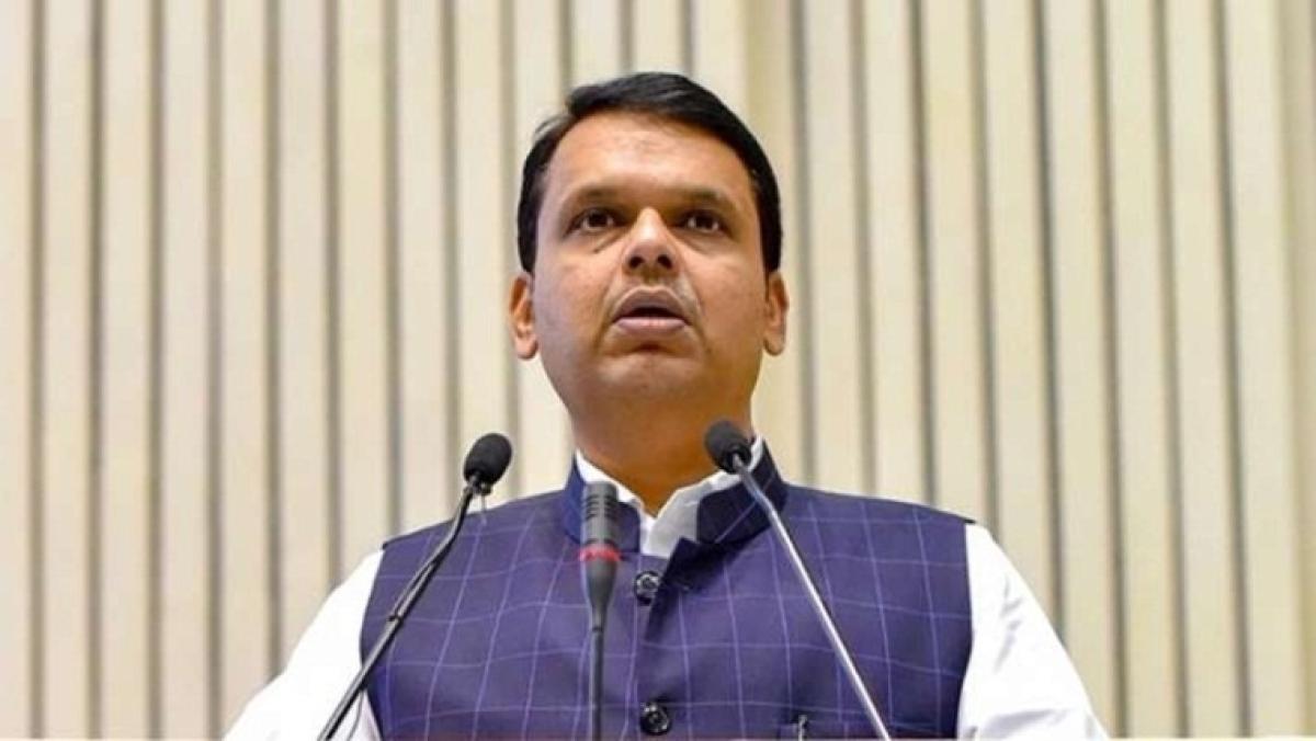 Controversy over CM banner –Devancha raja,Indra,Maharashtra cha raja, Devendra