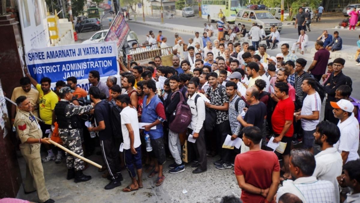 Terror Threat: J&K govt issues warning to Amarnath Yatra tourists