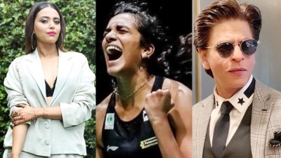 Bollywood Celebs Shower Praises Over Pv Sindhu For Winning Gold At