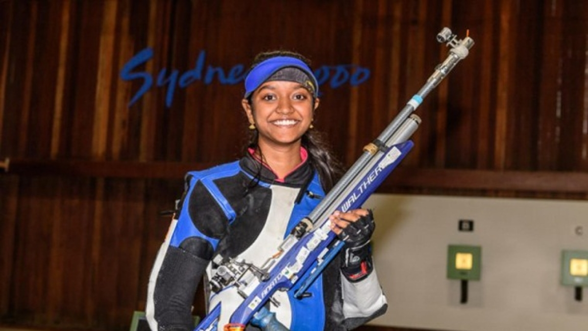 India's Elavenil Valarivan wins gold in 10m Air Rifle event at Shooting World Cup in Rio de Janiero