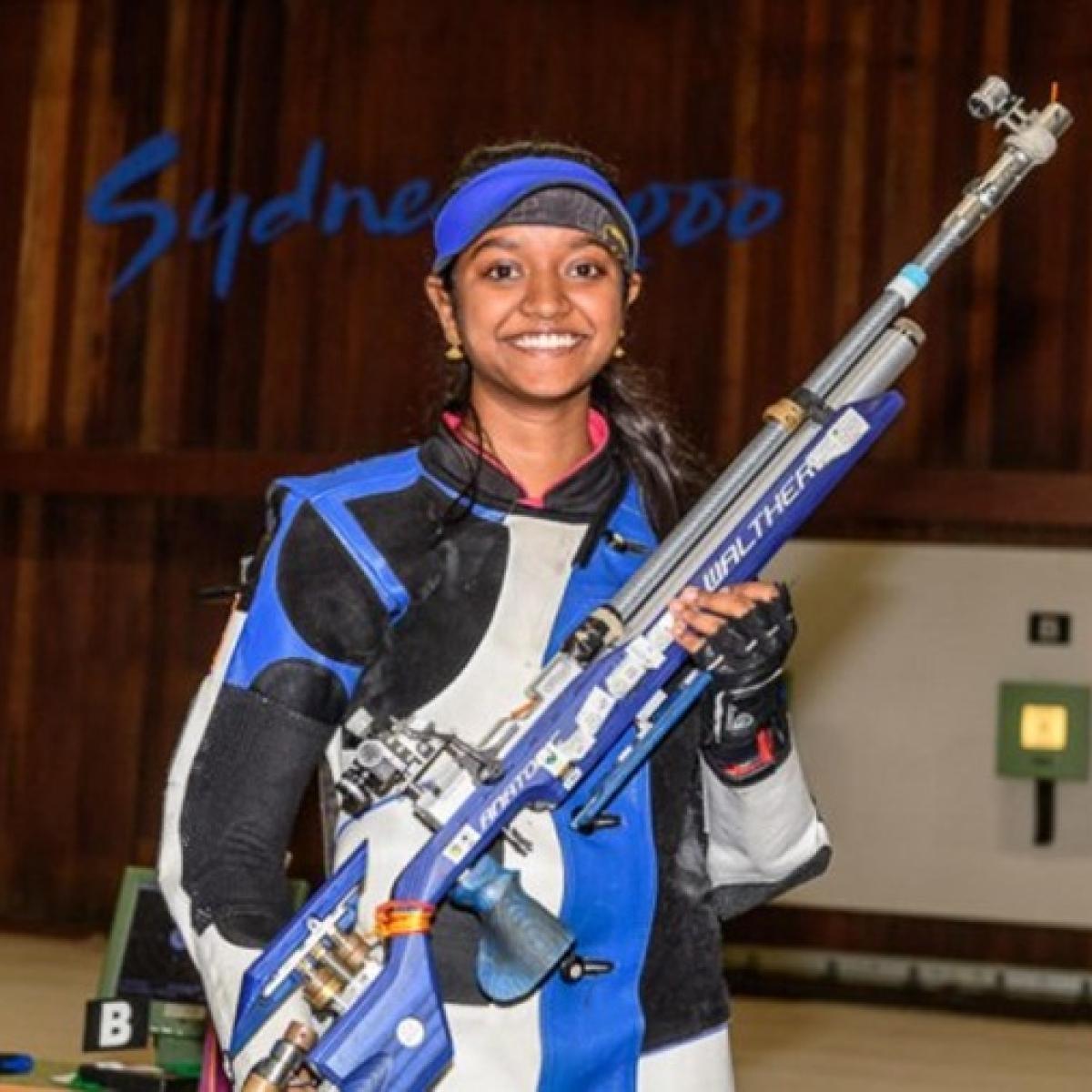 India's Elavenil Valarivan wins gold in 10m Air Rifle event at Shooting World Cup in Rio de Janiero