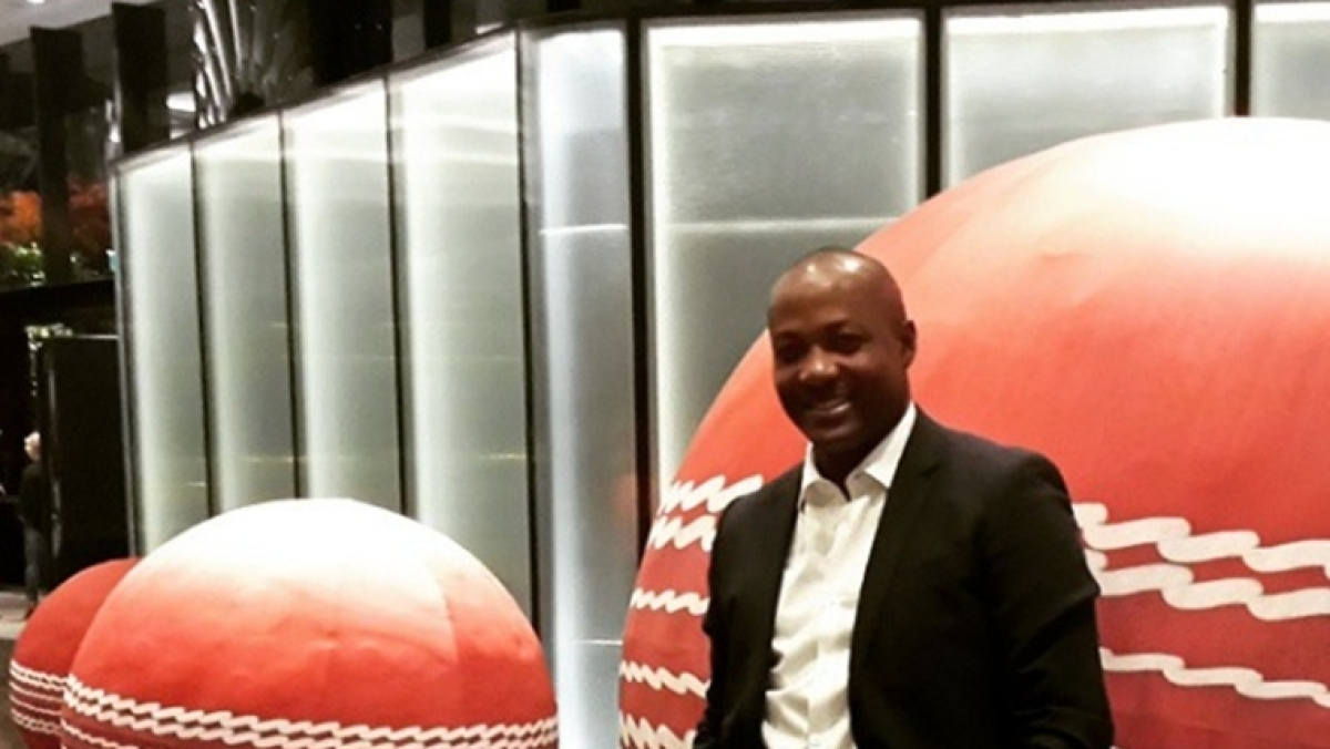 West Indies legend Brian Lara