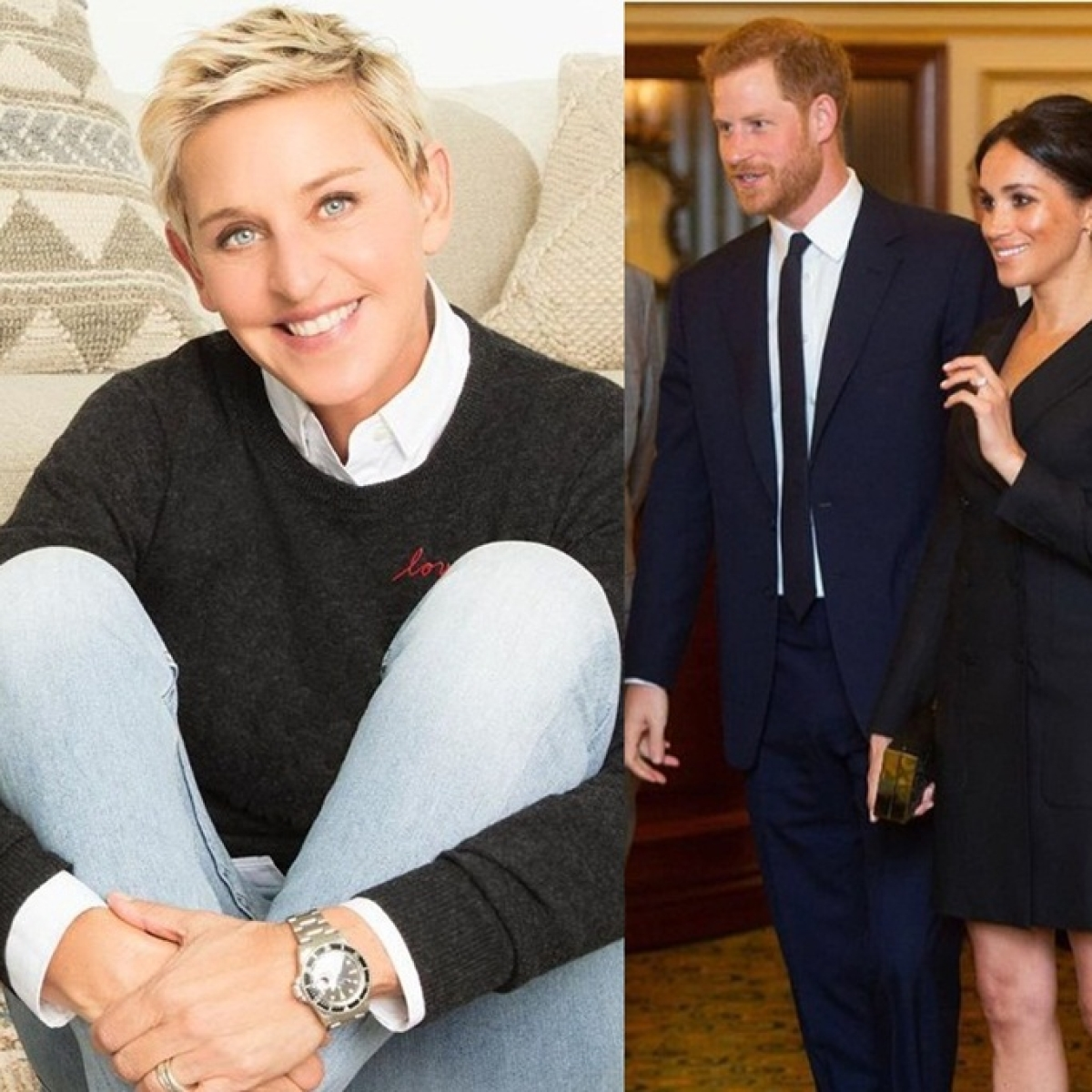 After John Elton, Ellen DeGeneres defends Prince Harry and Meghan Markle amid private jet criticism