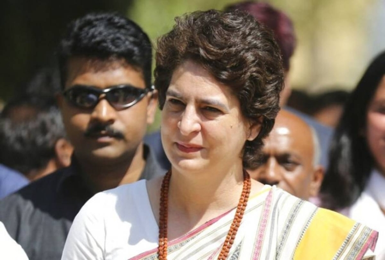 Ravidas temple demolition: Priyanka attacks BJP government over arrest of protestors