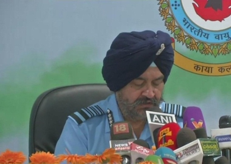 IAF cautious and alert, says Air Chief BS Dhanoa amid Indo-Pak tensions