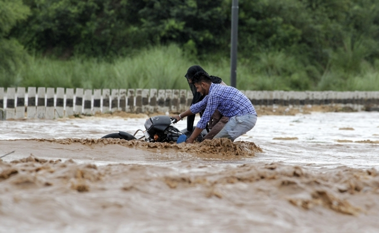 Flood-like situation in parts of Punjab, Haryana, IAF rescues 9 people