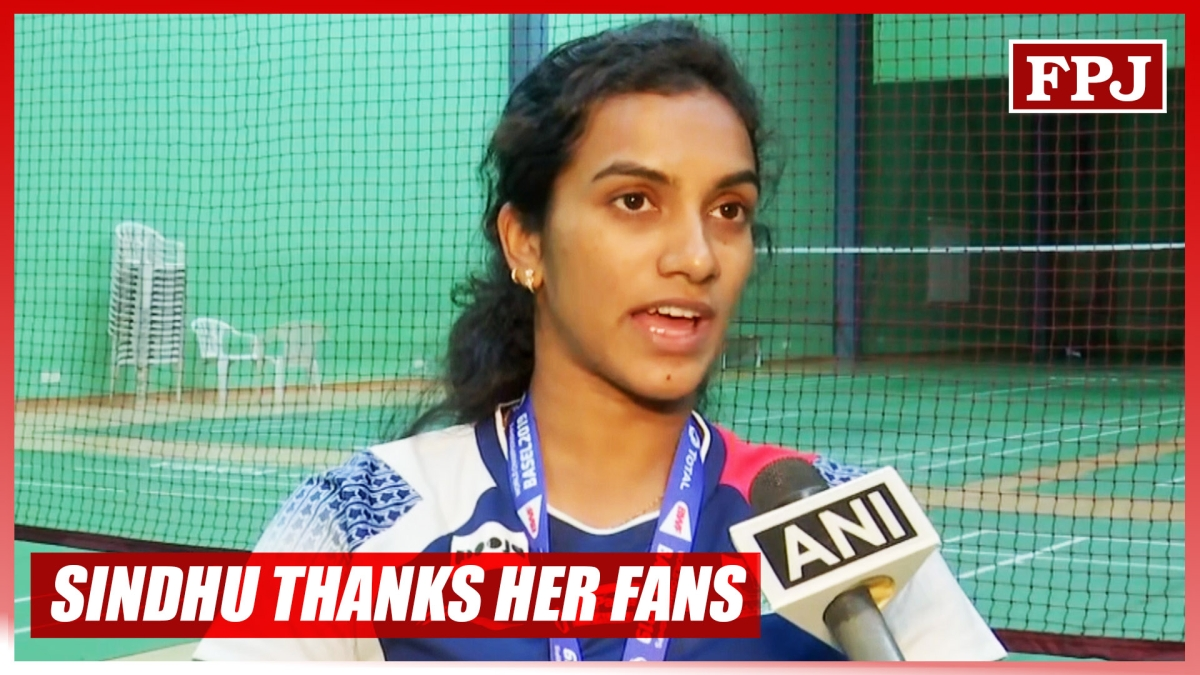 PV Sindhu thanks her fans for their blessings