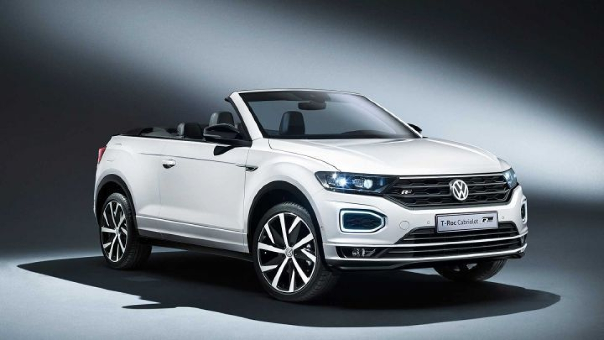Volkswagen T-Roc Cabriolet ditches its hard-top