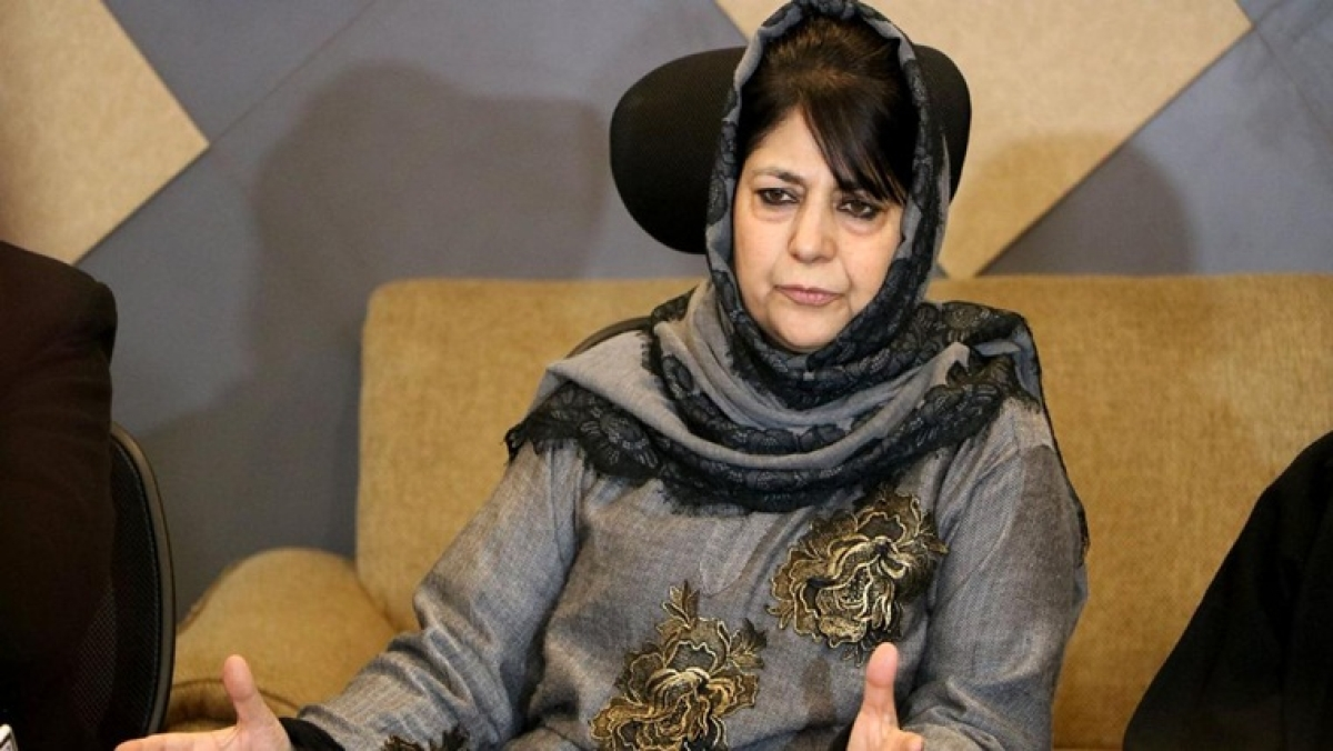 'Mehbooba Mufti not under house arrest': Kashmir Zone Police after she claims of 'illegal detention'