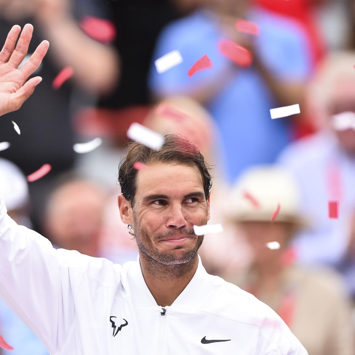 Montreal winner Rafael Nadal withdraws from Cincinnati