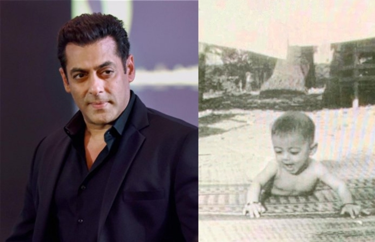Salman Khan treats fans with unseen childhood photo on completing 31 years in Bollywood