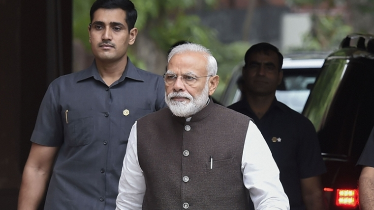 PM Modi's poll pitch of locking up corrupt gets going