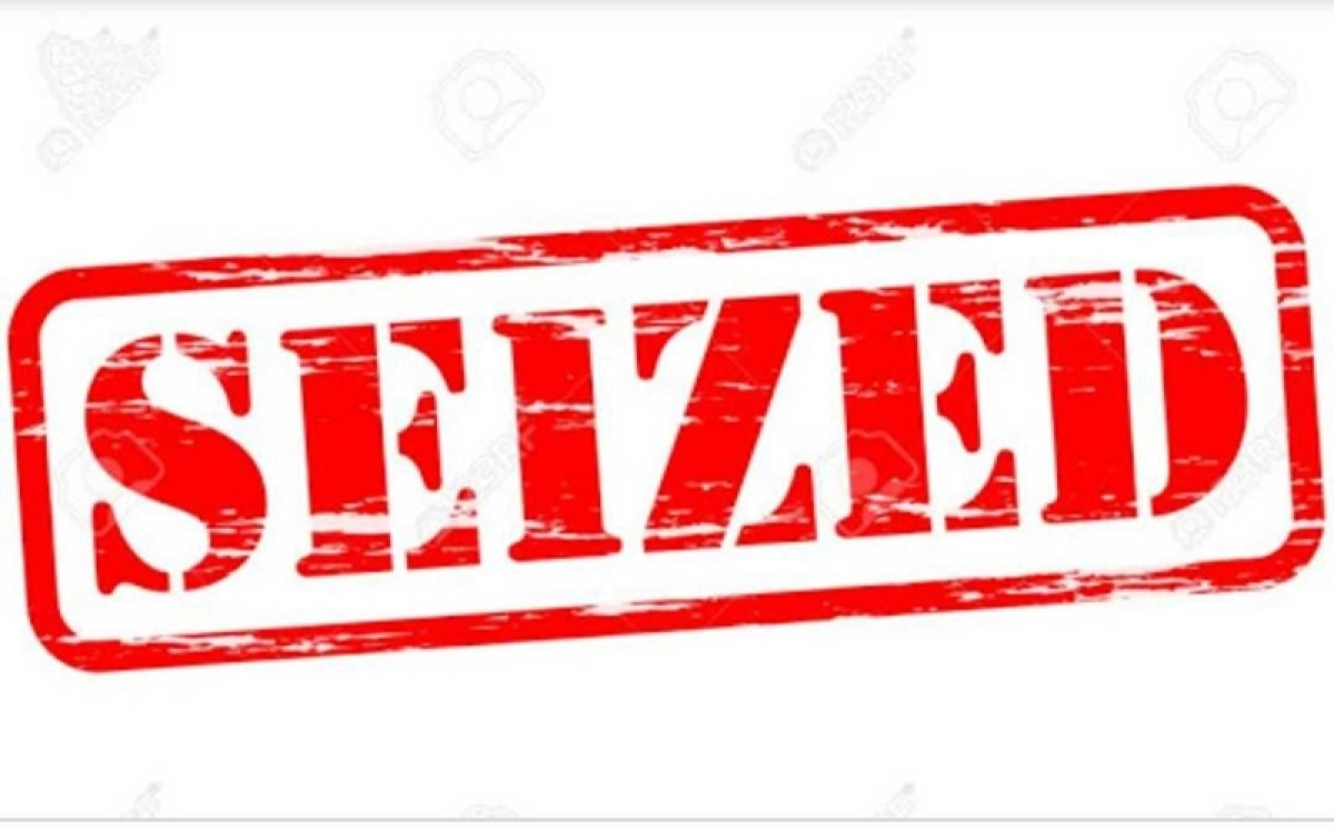 100 quintals of banned polythene bags seized