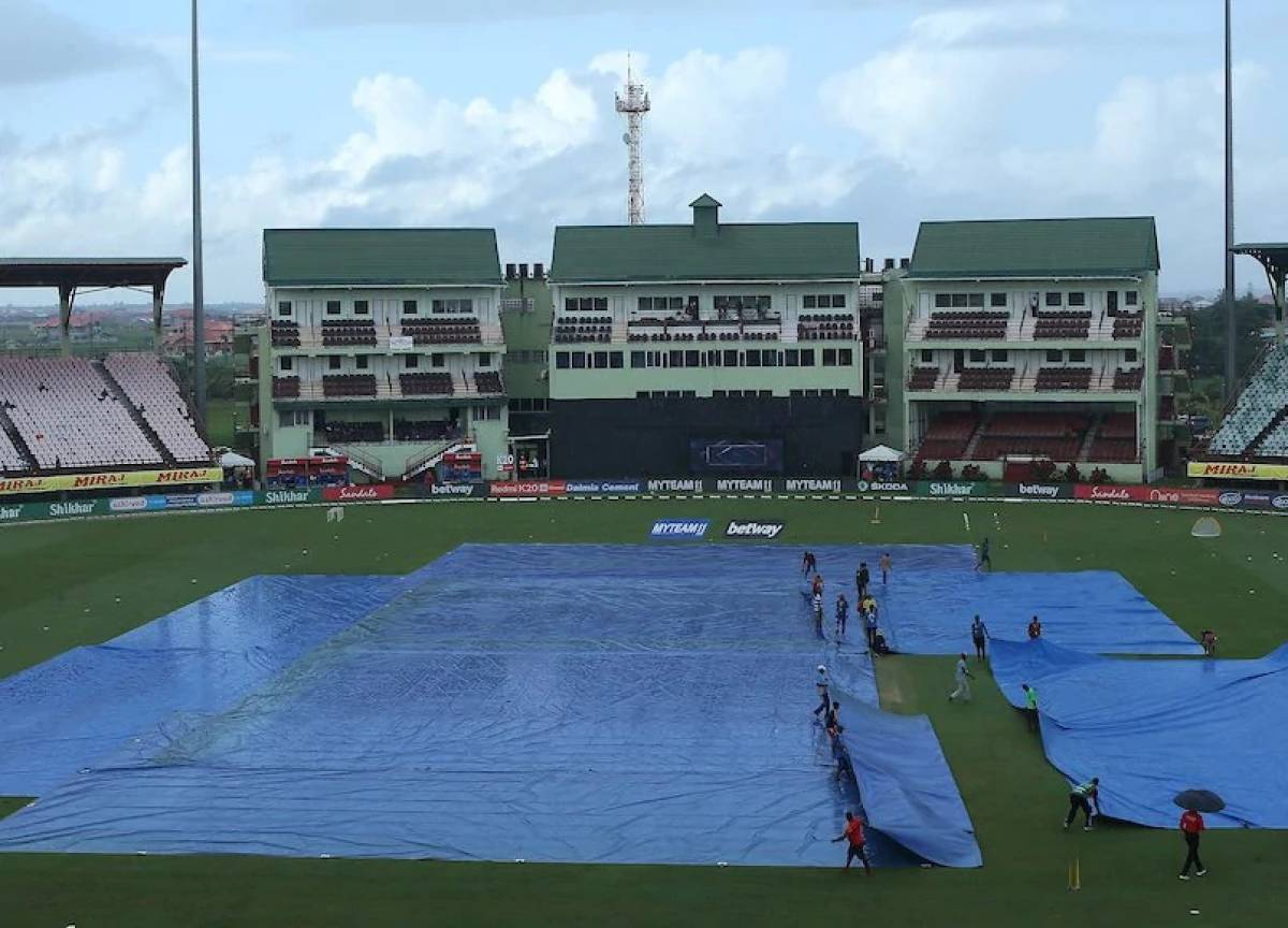 India vs West Indies 1st ODI washed out due to rain after 13