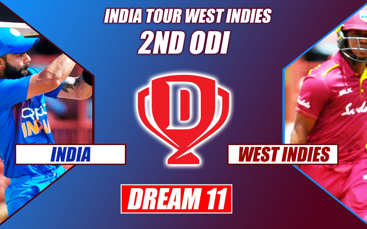 India vs West Indies 2nd ODI: Dream 11, Playing XI Prediction | India Tour  of West Indies 2019