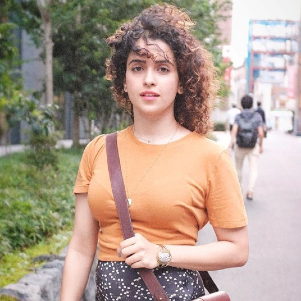 Appreciation for films with good stories is truly gratifying: Sanya Malhotra on National Award for 'Badhaai Ho'
